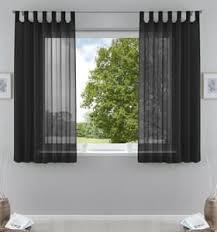 gardinen und vorhänge in schwarz günstig kaufen