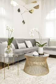 wohnzimmer einrichten grau weiss gold wohnzimmer