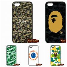 Japan popular fashion Bape Case Cover For iPhone SE 4 4S 5S 5 5C 6