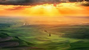 Tuscany Fields Landscape Italy Europe