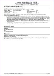 Sample Travel Nursing Resume Page 3 2014