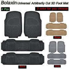 100 Rubber Truck Mats New Bolaxin 3D Slush Heavy Duty All Weather Vinyl Non Slip