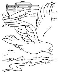 Bible Noahs Ark Coloring Pages 3