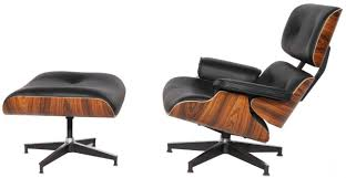 Modern Sources - Mid-Century Plywood Lounge Chair & Ottoman Eames Replica  Black Palisander Real Premium Leather Vitra Lounge Chair Ottoman Santos Palisander Nero Alinium Polished Sides Black Vintage Black Leather Ekornes Strless Chairs Ottomans A Pair Eames Version Charles And Ray Designer Lounge Chair With Ottoman In Details About Style 100 Pu Rosewood Replica Italian Walnut Frame Bully By Zuo Modern And In Oak Plywood