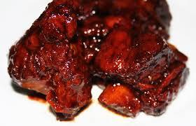cuisine chinoise porc la cuisine de bernard travers de porc cantonais caramélisés