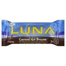 Clif Bar Luna Caramel Nut Brownie 15 Ct Learn More By Visiting