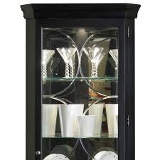 Amazon Coaster Curio Cabinet by Amazon Com Pulaski Corner Curio 27 By 15 By 74 Inch Black