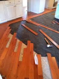 Can You Lay Ceramic Tile Over Linoleum by How To Install Wood Flooring Over Tile Flooring Designs