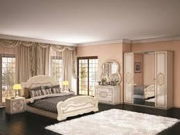 angebot deluxe italienisches schlafzimmer set lovo in beige bett 160x200