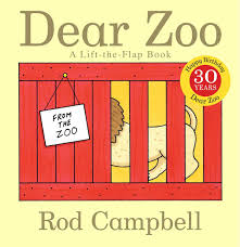 Best Halloween Books For 2 Year Old by Dear Zoo A Lift The Flap Book Rod Campbell 8601400161784