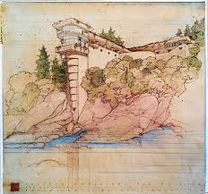 100 Frank Lloyd Wright Sketches For Sale Books About SFGate