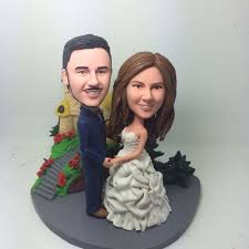 Customized Wedding Cake Toppers