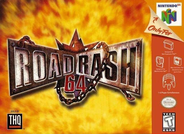 Road Rash 64 - Nintendo N64