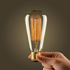 yx a20 retro led incandescent vintage light bulb handmade edison