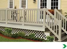 exterior railings gates at menards