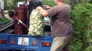 100 Wood Gasifier Truck Audi 100 With Gas Generator Made In LATVIA Video