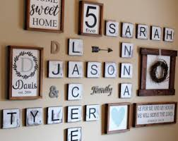 scrabble wall etsy