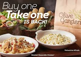 Olive Garden free take home meal deal NYC on the Cheap