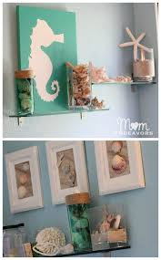 Beach Themed Bathroom Ideas by Eye Catching Seahorse Weathervane Art Teal Beach Decor Turquoise