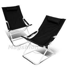 Outdoor Recliner Chair Walmart by Magshion 4 Position Pair Folding Beach Camping Patio Outdoor