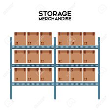 Warehouse Clipart Stock Inventory 9