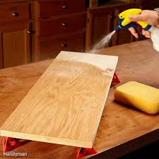 Restaining A Deck Do It Yourself by Tips For Using Water Based Varnish Family Handyman