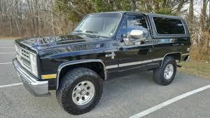 1985 Chevrolet K5 Blazer Black Gray Interior Original Paint NO