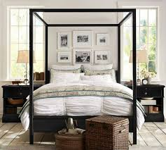 Pottery Barn Seagrass Headboard by I Like The Picture Collage Above The Bed Pottery Barn Master