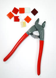 Wheeled Glass Tile Nippers by Chipper Nipper Tools Supplies Delphi Glass Tools U0026 Supplies
