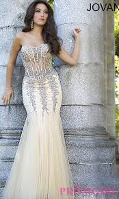 strapless sweetheart jovani prom dress promgirl