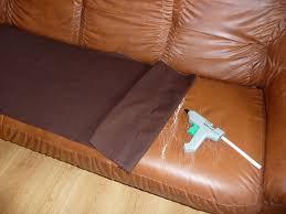 refaire assise canapé housse pour canapé couturetissus
