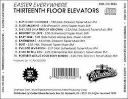 Thirteenth Floor Elevators Slip Inside This House by Psychedelic Mind