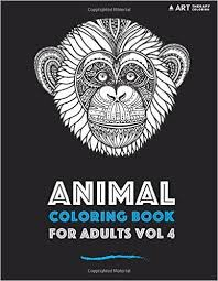 Amazon Animal Coloring Book For Adults Vol 4 Volume