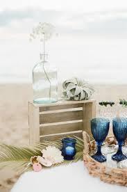 Snorkel Blue Beach Wedding Decor