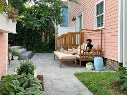 100 House Patio The Beach Backyard Makeover Its A Biggie Young