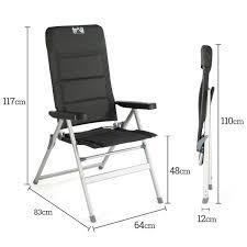Trail Aluminium Reclining Camping Chair