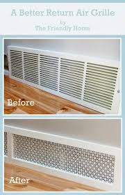Decorative Air Conditioning Return Grille by Best 25 Shabby Chic Decor Living Room Ideas On Pinterest