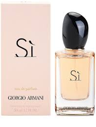 eau de toilette si armani armani sí eau de parfum for 50 ml notino co uk