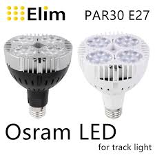 led par30 l 30w 40w 50w track light flood light bulb par30 e27