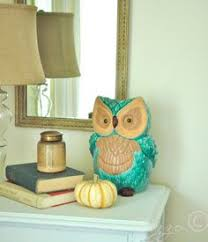 Owl Decor For The Dining Room