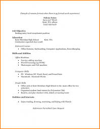 Perfect Sample Resume For College Students Philippines On Student Within Examples No Experience