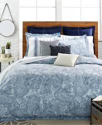 Macys Bedding Collections by Tommy Hilfiger Canyon Paisley Comforter And Duvet Cover Sets