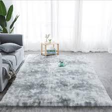 großhandel grauer teppich krawatte färben plüsch weiche teppiche für wohnzimmer schlafzimmer gleitschutz fußmatten schlafzimmer wasseraufnahme teppich