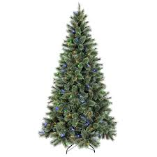 Christmas Tree 7ft Black by T1 7 Ft Pre Lit Sutherland Pine Christmas Tree At Home At Home