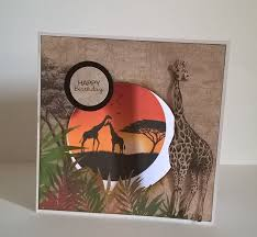Made by Sam Harrison for Craftwork Cards Savannah Collection