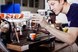 Sweden Barista Making Coffee