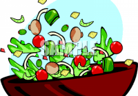 Fancy Fruit Salad Clipart Salad Clipart Black and White Clipart Panda Free