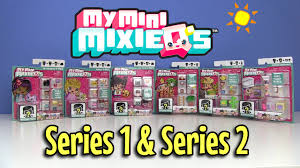 My Mini MixieQ s 4 Pack Sets Series 1 and Series 2