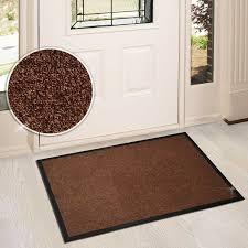 grand paillasson pour portes et entrées lavable et absorbant