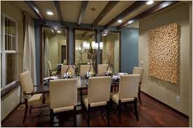 Well Known Formal Dining Room Wall Art Throughout Drapes With Modern Chandeliers And